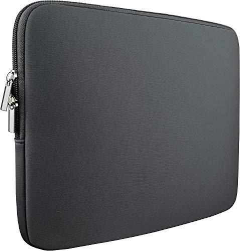 Laptop Sleeve Bag 15.6 Inch,Resistant Neoprene Laptop Sleeve/Notebook Computer Pocket Case/Tablet Briefcase Carrying Bag fit for Computer Notebook MacBook- (Grey)