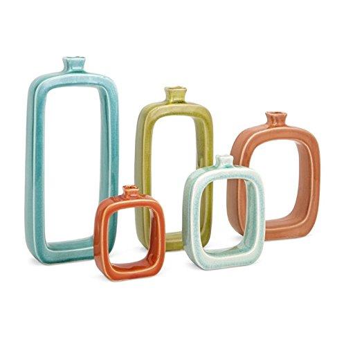Warlow Vases-Set of 5 14162-5