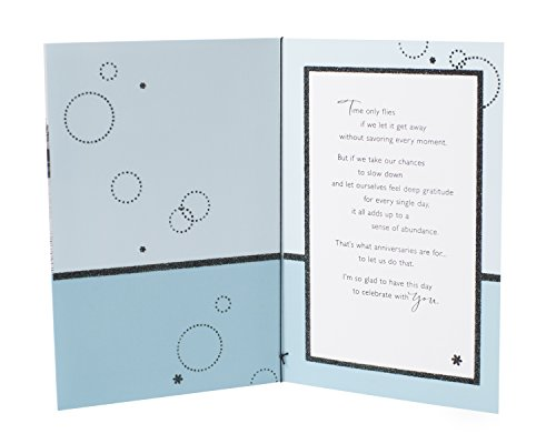 Hallmark Anniversary Greeting Card for Spouse (Dancing Couple)