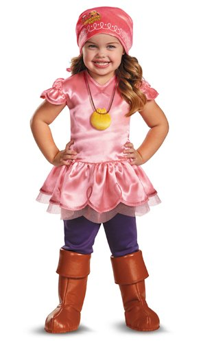 Girl's Disney Junior Jake and The Neverland Pirates Izzy Deluxe Costume, -