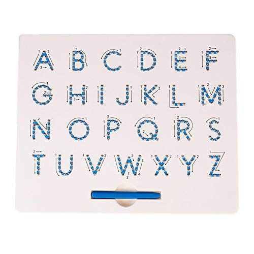geSlnsXhil Kids Baby Toy, Magnetic Beads Drawing Board Mathematics Number Alphabet Boys Girls Educational Toy 1# from geSlnsXhil