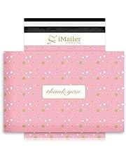 iMailer- Poly Mailer Envelope Thank You Pink Polka Dot