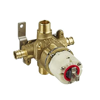 American Standard R128 Pressure Balance Rough Valve Body Only with PEX Inlets/Un, N/A