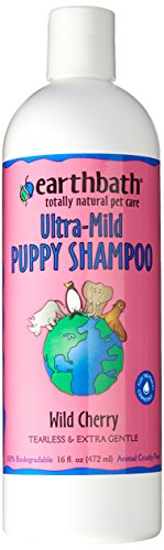 Earthbath All Natural Puppy Shampoo, Tearless and Extra Gentle, 16 oz.
