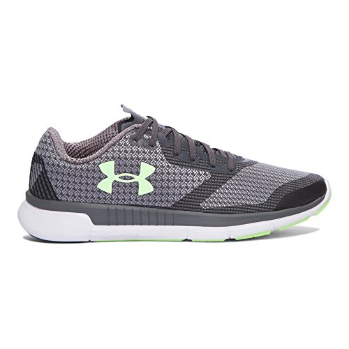 Under Armour Charged Lightning Womens Zapatillas De Entrenamiento - SS17 Rhino Gray/White/Lime Fizz
