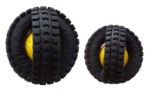 (Pet Qwerks Xta3 Animal X-tire Ball 3.5 in (2-pack))
