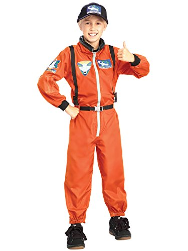 Rubie's Costume Astronaut Child's Costume, Large (Ages 8 to 10)]()
