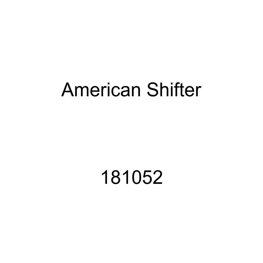 American Shifter 181052 Orange Retro Metal Flake Shift Knob with M16 x 1.5 Insert Black Killer Whale