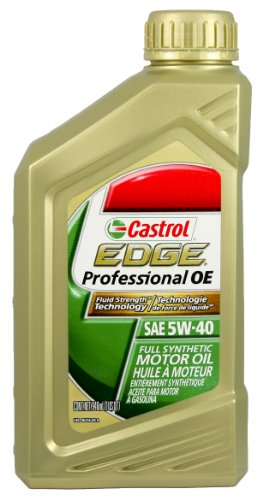 Castrol edge professional oe 5w 40 motor oil case of 6 for 5 w 40 motor oil