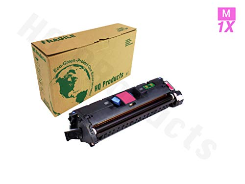Generic Remanufactured TonerHQ Products Remanufactured Replacement for HP 122A Q3963A Magenta Toner Cartridge for HP LaserJet 2550 2820 2840  Cartridge Replacement for HP 122A ( Black,Magenta , 10-Pack )