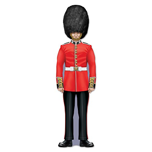Beistle 54627 Royal Guard Cutout, (British Party Decorations)