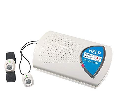 Freedom Med Alert – MXD Medical Alert System – Long Range, Home Based Alerts – Personal Emergency Button Necklace…