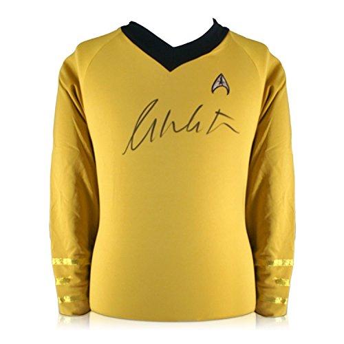William Shatner Signed Star Trek Jersey from Exclusive Memorabilia