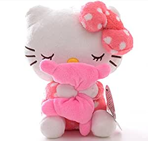 Pink Hello Kitty Hold Pillow Plush Toy