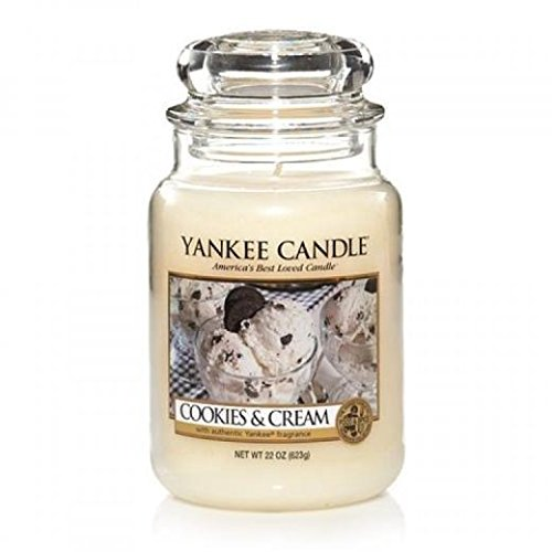 Yankee Candle Cookies and Cream Large Jar Candle