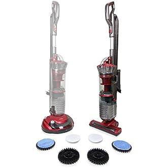 Prolux Allvac Bagless Hard Floor Vacuum Cleaner Tile Scrubber Polisher Buffer Hardwood Vacuum