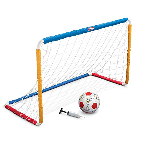 MGA Little Tikes Easy Score Soccer Set w/net + Ball + Pump (Game Net Goal)