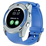 Micromax Joy X1800 COMPATIBLE ZTE V8+ Bluetooth Smartwatch With Sim & Tf Card Support With Apps Like Facebook And Whatsapp Touch Screen Multilanguage Android/Ios Mobile Phone Wrist Watch Phone With Activity Tracker And Fitness Band By VELL- TECH ZTE V8+ Bluetooth Smartwatch With Sim & Tf Card Support With Apps Like Facebook And Whatsapp Touch Screen Multilanguage Android/Ios Mobile Phone Wrist Watch Phone With Activity Tracker And Fitness Band By VELL- TECH