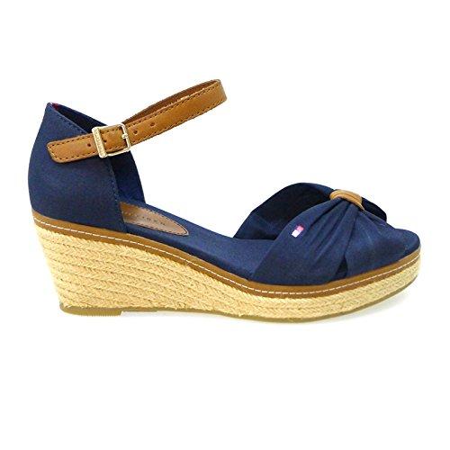 Tommy Hilfiger Zapatos Mujer Alpargatas Espadrilles Elsa 19d Azul: Amazon.es: Zapatos y complementos