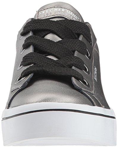 Skechers Metallics Hi Lite Sneaker Grigio Pew Pewter Donna rvrzqEUxw