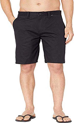 Walkshort Clothing Black - Hurley Men's One & Only Chino Walkshort, Black, 33
