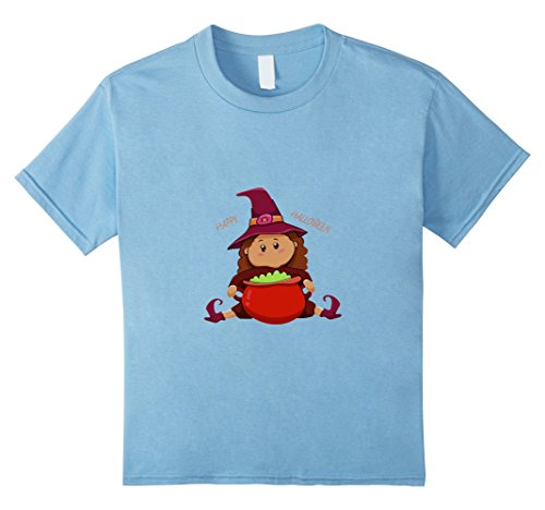 Kids Happy Halloween 2017 Adorable Witch T-shirt 4 Baby (Halloween In Salem 2017)