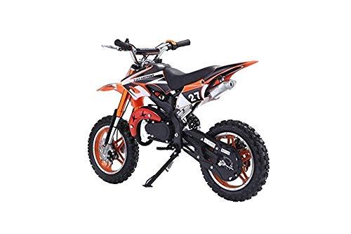 Tao Motor Mini Kids Scrambler 49cc Blaster Dirt Bike Orange