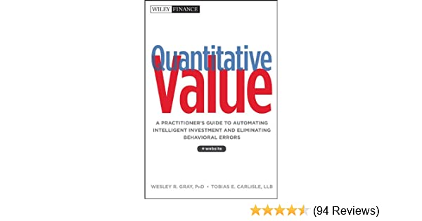 Amazon quantitative value a practitioners guide to amazon quantitative value a practitioners guide to automating intelligent investment and eliminating behavioral errors wiley finance ebook wesley fandeluxe Images