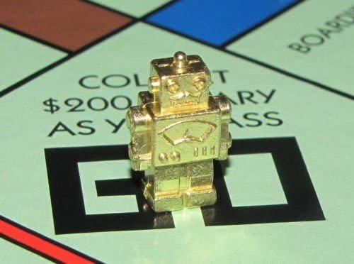 Monopoly Classic Limited Edition Golden Bonus Robot Token/Counter: Amazon.es: Electrónica