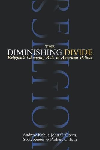 Cover of The Diminishing Divide: Religion's Changing Role in American Politics