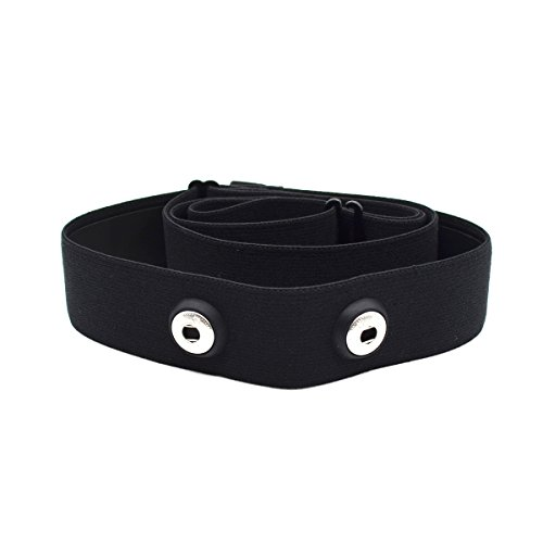 The Strap Belt of Heart Rate Monitor Soft Comfortable for Polar, Garmin, and More (Replacement)