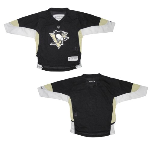Baby Infant / Boys NHL Pittsburgh Penguins Hockey Jersey / Sweater - Black & Yellow