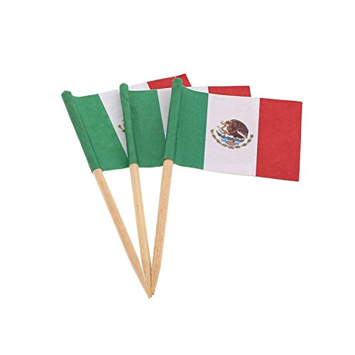 Royal Mexican Flag Picks, Case of 14,400 by Royal