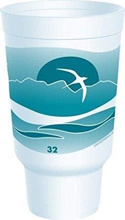 Amazon Com Dart 32aj20 Horizon Foam Cup 1 Pack 16 Per Pack Industrial Scientific