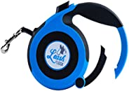Leash Lock Retractable Dog Leash - The Worlds First Easy One Step Locking Handle to Quickly Secure Your Dog An