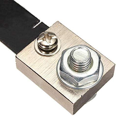WINGONEER 2Pcs FL-2 100A 75MV DC Current Shunt Resistor For Ampere Panel Meter