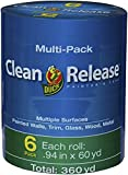 Clean Release Blue Painter's Tape 1-Inch