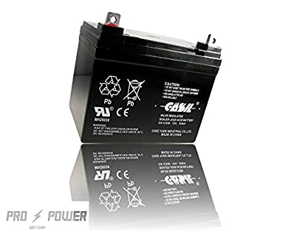 Casil CA12350 12v 35ah for U1 Deep Cycle AGM Solar Battery Replaces 33Ah, 34A