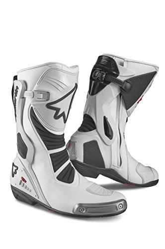 [해외]Stylmartin (스틸 마틴): RACING 시리즈 시동 STEALTH 흰색 사이즈: 42 (국내 27cm) 레이싱 sty-stealth-w-42 / Stylmartin (Stil Martin): RACING series Boots STEALTH White size: 42 (domestic 27cm) racing Sty-stealth-w-42