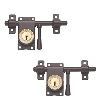 Harrison Iron Rod Lock (Single & Double Door)