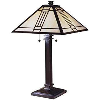 Dale Tiffany 8655 551 Edmund Mission Style Table Lamp 13