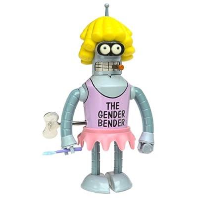 Futurama Rocket USA Wind Up Tin Gender Bender: Toys & Games