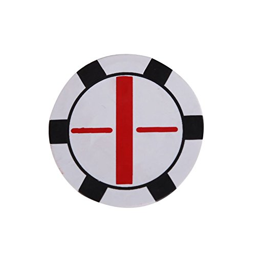 State Mvp Series Watch (Flat Golf Ball Marker Push Shot 1.5Inch Golf Accessory White)