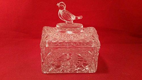 (Hofbauer The Byrdes Bird Lead Crystal Trinket Box with)