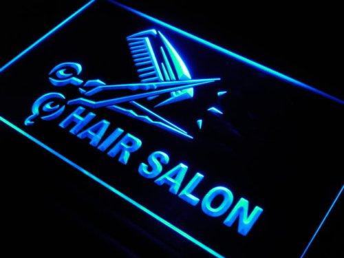 Cartel Luminoso ADV PRO s109-b Hair Salon Cut Scissor ...
