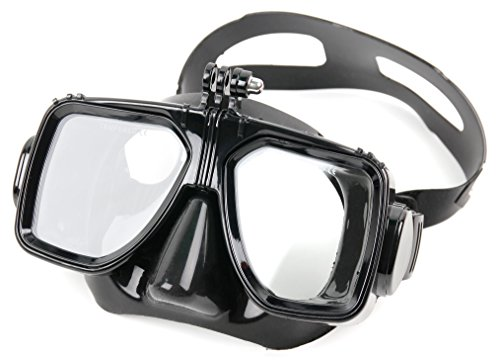 (DURAGADGET Underwater Diving Goggles with Mount for The Liquid Image Ego )