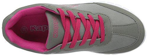 Grau Kappa da Rocket Pink Adulto Unisex Ginnastica 1622 – Scarpe Grey Grigio qA8ErpxwA
