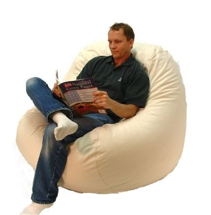 Big Bean Beanbag Lounger Cotton by Bean Products