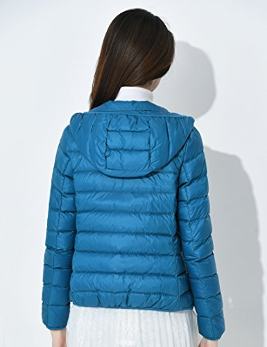 Light Jacket Down Mujer Blue Peacock 2 Cherry Chick Ultra wz7qSExX