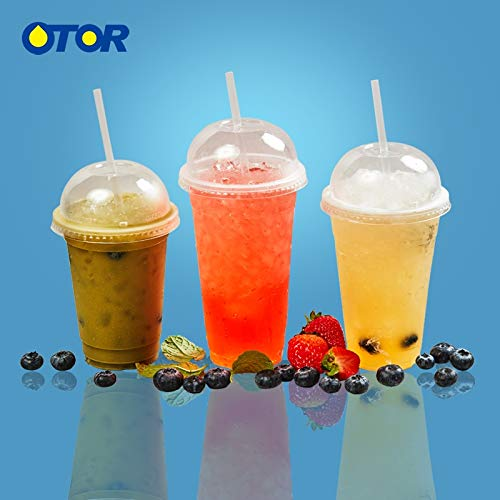 Bee Party Decorations - Bee Birthday Party Decorations - Free Shipping 50pcs 17oz 22oz Clear Disposable Plastic Tea Cup Coffee Cups with Lids for Iced Coffee Bubble Boba Smoothie.